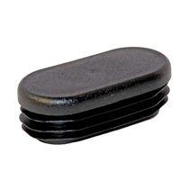 Gewindelose Endkappe / oval / Polyethylen