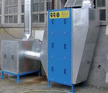 Luftfilter / für Schweißrauch / Taschen / modular