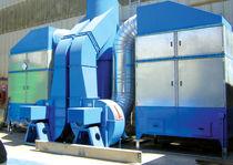 Staubfilteranlage / Luft / mit Aktivkohle / modular