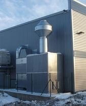 Ölnebelfilter / Rauch / Luft / zentral
