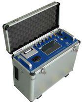 Kamingas-Analysator / Schwefel / Sauerstoff / Kohlendioxid