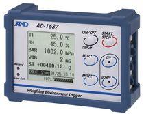 Temperatur-Datenlogger / RS-232C / USB / mit Display