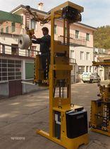 Elektrischer Kommissionierstapler / horizontal