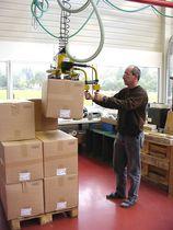 Vakuum-Hebegerät / für Kisten