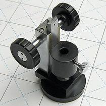 Tischfuß / Metall / verstellbar / für Bodenbefestigung