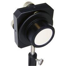 Optischer Spiegel / rund / Präzision / mit Metallschicht