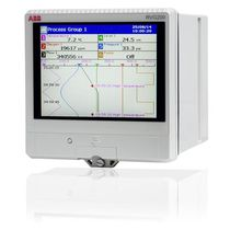 Papierloser Recorder / USB / Ethernet / mit Touchscreen