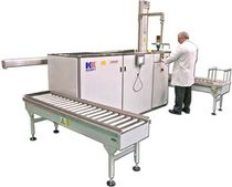 Ultraschall-Reinigungssystem / Lösungsmittel / automatisiert / für Schwerlastanwendungen
