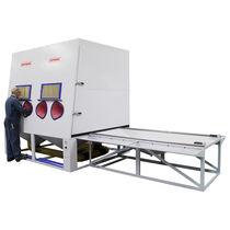 Injektor-Sandstrahlkabine / manuell / Durchlauf / für die Luftfahrt