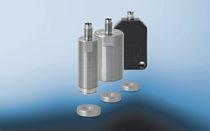 Linearer Wegaufnehmer / kontaktlos / magnetisch-induktiv / Miniatur
