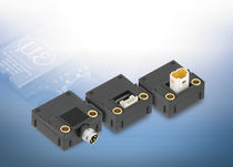 Linearer Wegaufnehmer / kontaktlos / magnetisch-induktiv / analog