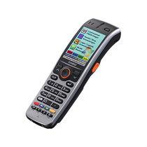Handterminal mit integrierter Tastatur / mobil / Strichcodeleser