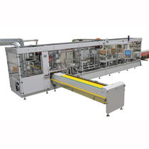 Horizontale Absackmaschine / automatisch / für die Kosmetikindustrie / für die Lebensmittelindustrie