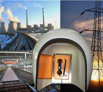 Akustikkabine / Telefon / für Gefahrenzonen / für laute Umgebungen