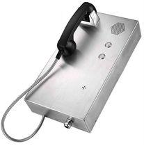 Telefon mit automatischer Wählfunktion / IP65 / Edelstahl / wandmontiert
