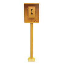 Halterung für Notfalltelefon / Stahl / Metall