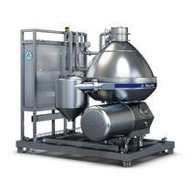 Zentrifugaler Abscheider / Milch / für die Lebensmittelindustrie / vertikal