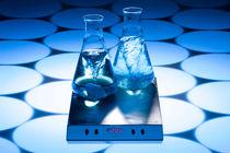 Magnetisches Laborrührer / digital / Phiole / ultraflacher