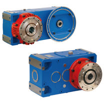 Kegelradgetriebe / Schneckenzahnrad / parallel / hohe Drehzahl