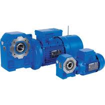 Schnecken-Elektrogetriebemotor / mit Hohlwelle / modular
