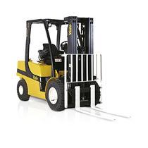 LPG-Gabelstapler / Dieselmotor / Sitz / für Lagerhallen