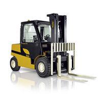 LPG-Gabelstapler / Diesel / Sitz / für Lagerhallen