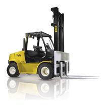 LPG-Gabelstapler / Diesel / Sitz / für Industrieanwendungen