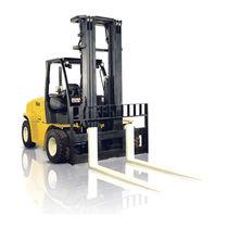 LPG-Gabelstapler / Dieselmotor / Sitz / für Materialumschlag