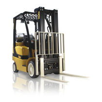 LPG-Gabelstapler / Sitz / für Lagerhallen / für Materialumschlag