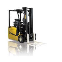 Elektrischer Gabelstapler / Sitz / für Lagerhallen / für Container