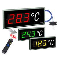 Raumtemperatur-Anzeiger / 7 Segmente / für Einbau / wandmontiert