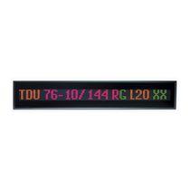 Alphanumerische-Displays / Punktmatrix / 17 Segmente / 1-bahnig