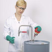 Lösungsmittelpumpe / manuell / zentrifugal / Eintauch