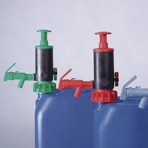 Pumpe für Säure / manuell / Kolben / Eintauch