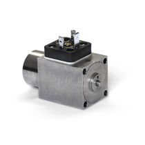 Servogesteuertes Magnetventil / pneumatisch / Sitz / proportional