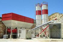 Festinstallierte Betonmischanlage