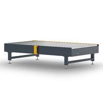 Rollenförderer / horizontal / Transport / Plattenketten