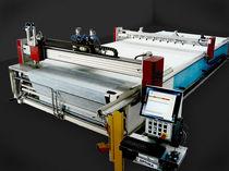 Schneidmaschine für Gewebe / Laser / CNC