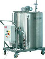 Dosier- und Mischanlage / für Eiscreme-Produktionslinien / volumetrisch
