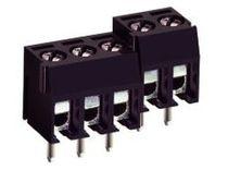 Clip-Reihenklemme / für Stromschienen / mit Sicherung und Verbindungsklemme