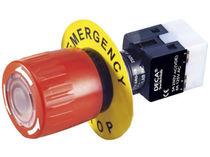 Pilzdrucktaster / einpolig / Not / elektromechanisch