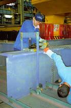 Hydraulischer Zylinder / einfach / Mehrzweck