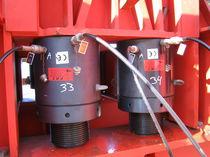 Hydraulischer Zylinder / Doppel / kompakt / Gewinde