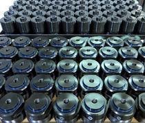 Hydraulischer Zylinder / Doppel / Befestigung / Gewinde