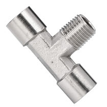 Schraubanschluss / T / hydraulisch / pneumatisch