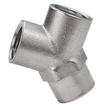 Schraubanschluss / Y-förmig / hydraulisch / pneumatisch