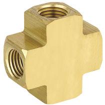 Schraubanschluss / Kreuz / hydraulisch / pneumatisch