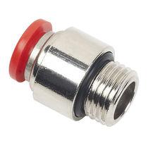 Push-in-Anschluss / gerade / pneumatisch