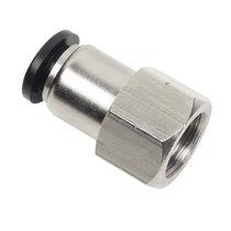 Push-in-Anschluss / gerade / pneumatisch / O-Ring
