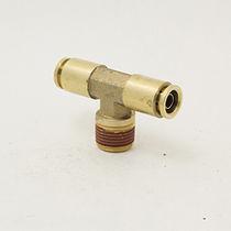 Push-in-Anschluss / T / pneumatisch / Messing